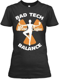 Rad Tech Balance: Wine & Coffee | Teespring