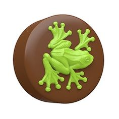 Chocolate Covered Oreo Tree Frog Sandwich Cookie Mold by SpinningLeaf
