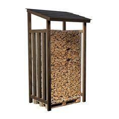 houthok met natuurlei, voor een pallet haardhout van bijvoorbeeld haardhout.com.