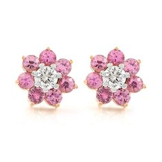 Only in love are unity and duality not in conflict Sapphire And Diamond Earrings, Pink Sapphire, Cape Town South Africa, Bespoke Jewellery, Girls Best Friend, Three Dimensional, Jewelry Design, Product Launch, Rose Gold