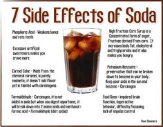 7 Side Effects of Soda