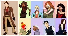 Big damn heroes, by gabzillaz  http://gabzillaz.deviantart.com/