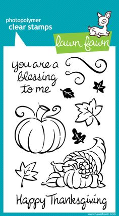 ScrapbookPal.com - Lawn Fawn Clear Stamps - Harvest Season, $11.99 (http://www.scrapbookpal.com/lawn-fawn-clear-stamps-harvest-season/)