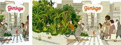"Französisches Comic ""Petites histoires pour la nature"" vom Ginkgo-Verlag – mundo azul"