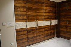 home interior enq thane mumbai call 9987553900 Wardrobe Door Designs, Wardrobe Doors, Bedroom Cupboard Designs, Interior Decorating, Interior Design, Wood Laminate, House Design, Flooring, Wardrobes