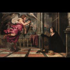 Tiziano Vecellio, Annunciazione, 1535 ca. Venezia, Scuola Grande di San Rocco