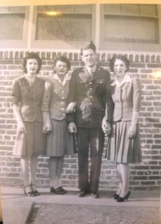 Dad and his Sisters around 1940