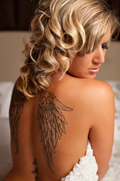 I like this pose to show my tattoos...