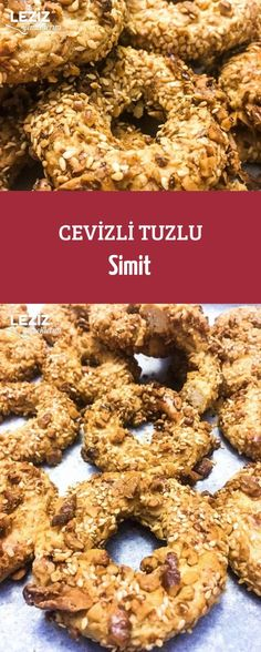 Cevizli Tuzlu Simit Cereal, Muffin, Brunch, Meals, Breakfast, Food, Rage, Recipes, Morning Coffee