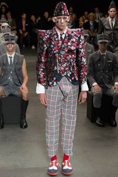 Thom Browne Spring 2015 Menswear Collection Slideshow on Style.com