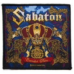 Sabaton - Carolus rex hihamerkki