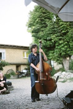 Learn  #Jazz #DoubleBass @Dordogne Jazz Summer School http://www.jazzschool-dordogne.co.uk