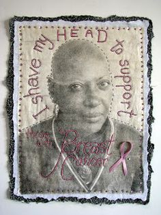 Art In Stitches: Solidarity, Decision Portrait Series