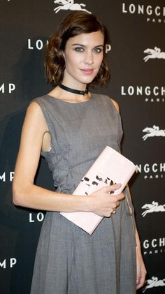 Alexa Chung Longchamp Kate Moss