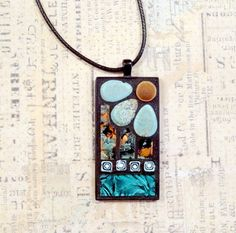Shelly Heiss original mosaics paintings and by ShellyHeissDesigns