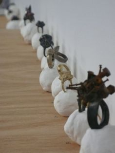 Karl Fritsch, rings, 'Some rings are fuckwits', Hamish McKay Gallery, 2010