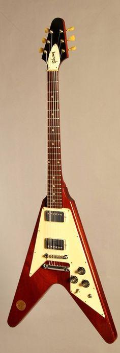 Gibson Flying V* 1971 Medallion   ___   http://guitars.com/inventory/ea1504-1971-gibson-flying-v-medallion