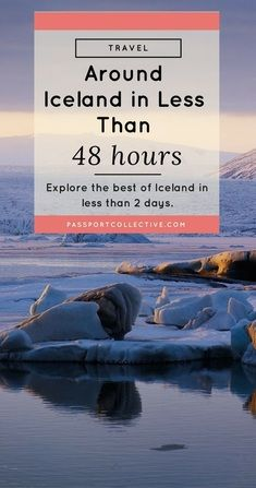 Iceland is a spectacular country and surprisingly accessible. If you're on a layover and short on time, see how you can see the best of Iceland in just 48 hours! Iceland Travel Tips, Europe Travel Tips, European Travel, Travel Advice, Travel Guides, Travel Destinations, Euro Travel, Weekend Trips, Travel Around The World