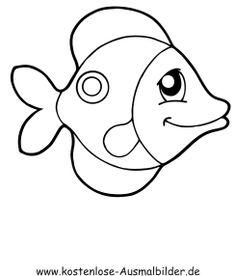 ausmalbild fisch zum kostenlosen ausdrucken und ausmalen. ausmalbilder | ausmalbilderfische