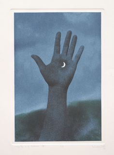 Magritte (1975), Plate size: 12 ¾ x 9, Photo etching and Aquatint