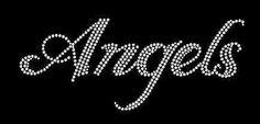 Angels Rhinestone Motif Design Tshirt Angels by BlingnPrintStreet Etsy Handmade, Handmade Gifts, String Art Patterns, T Shirt Transfers, Shopping World, Motif Design, Sports Gifts, Girls Earrings, Girl Dancing