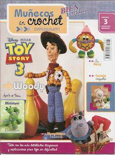 Revistas: Tejidos y Manualidades: Revista: Muñecos en crochet Amigurumi 3 - Ediciones Bienvenidas