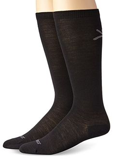 Terramar Merino Wool Liner Socks (2 Pack), Small, Black >>> Continue to the product at the image link.