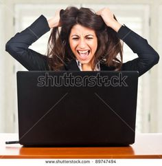 Image result for laptop bigger than her face