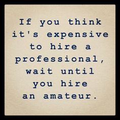 Public Relations - Hire a pro not an amateur!