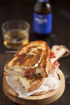 Nina's Kitchen: Sandwich de queso brie y jamón ♥