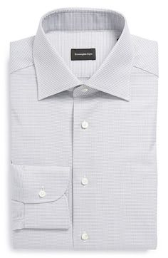 Ermenegildo Zegna Regular Fit Dress Shirt available at #Nordstrom