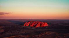 The shadow of Uluru / Ayres Rock