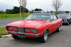 1975 Ford LTD Australian Muscle Cars, Aussie Muscle Cars, 67 Camaro, Good Looking Cars, Ford Ltd, Ford Falcon, Road Racing, Auckland, Old Cars