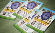 Preshool Kids Flyer Designs by www.graphicdesigneronline.info