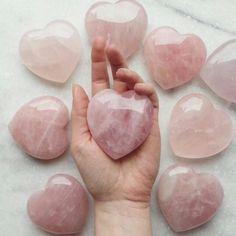 beautiful, gift, hearts, love, rose quartz