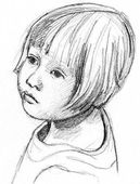 How to Draw Features for Portraits of children