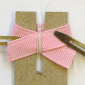 how to make minibow hair bow hairbow clip free instructions