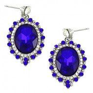 "#cybermonday #stockingstuffer #jewelry  Designer Inspired Rhinestone Dangle Earrings. Post Earring / Color: Sapphire Blue/ Rhinestones / Rhodium Plated / Length: 1 1/2"" LAN001,http://www.amazon.com/dp/B00CZCTYRG/ref=cm_sw_r_pi_dp_wrnNsb01HG163C2T"