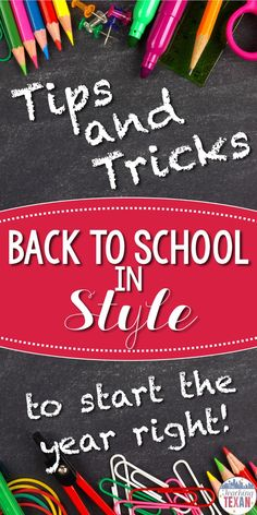 How do you manage everything that has to be done during the busy back to school time?  Here are some of my favorite DIY tips and tricks to start the school year off with a bang.  From welcome letters to classroom organization this post is sure to save you time!