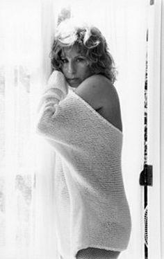 Barbra Streisand 1986 by Mario Casilli