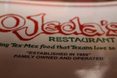 Ojeda's Restaurant in Dallas