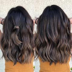 Do you wanna that deeper root melt looking 😍😍 Cut and color by Toner Tiffany Sorge Balayage Ombré, Brown Hair Balayage, Hair Color Balayage, Hair Highlights, Color Highlights, Ombre Hair Color, Brown Hair Colors, Honey Brown Hair, Brunette Hair