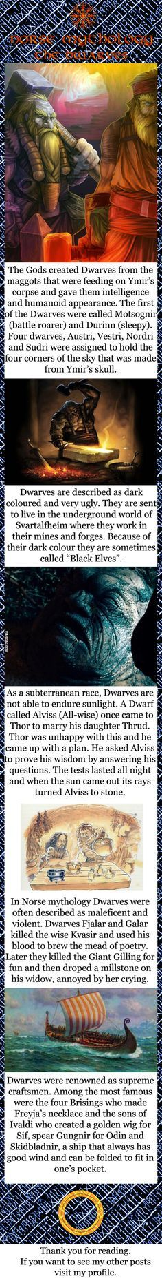Norse mythology - The Dwarves
