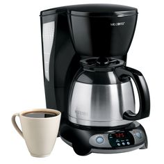 TFTX Series 8-Cup Programmable Coffeemaker, Thermal Carafe
