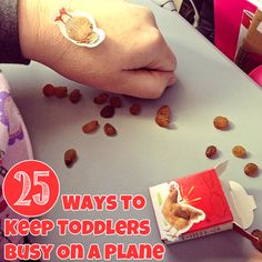 25 Ways to Keep Toddlers Busy on a Plane from Childhood 101