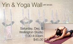 Yin and Yoga Wall