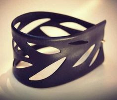Eco friendly bracelet made out of recycled bike inner tubes Perfect match with…