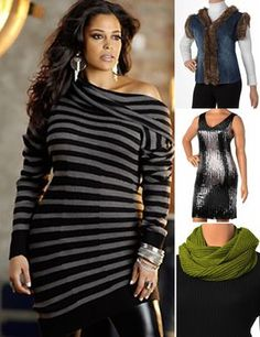 Plus size dresses trendy