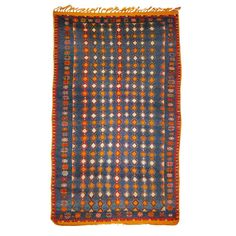 Vintage north african Berber tribal rug Ait Khozema | From a unique collection of antique and modern moroccan and north african rugs at http://www.1stdibs.com/furniture/rugs-carpets/moroccan-rugs/