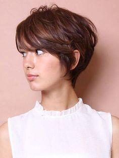 Tagli capelli fini: pixie cut
